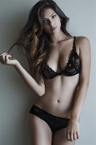 Christen Harper in lingerie