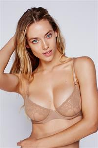 Hannah Ferguson in lingerie