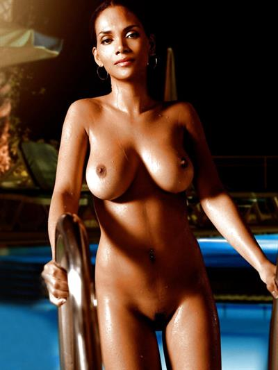 Halle Berry - breasts