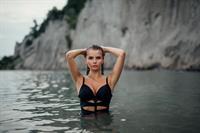 Angelika Nina Melnyk in a bikini
