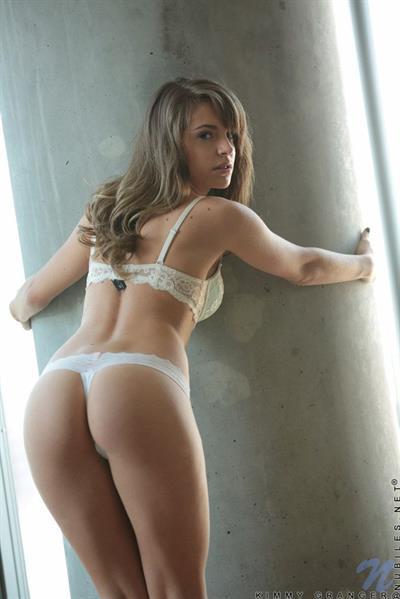 Kimmy Granger in lingerie - ass