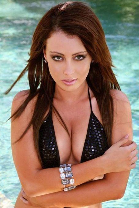 Lauren McLeod in a bikini