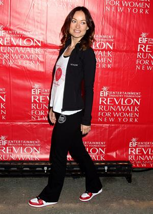 Olivia Wilde at Revlon Run/Walk For Women in New York City - May 4, 2013