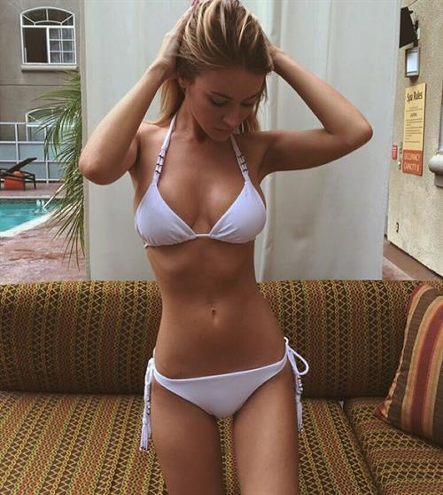 Bryana Holly in a bikini