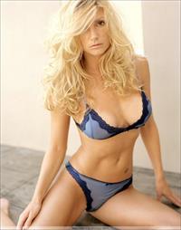 Brande Roderick in lingerie