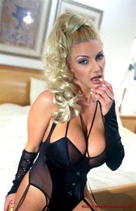 Brittany Andrews in lingerie