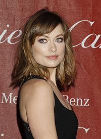 Olivia Wilde at the Palm Springs International Film Festival Awards January 7, 2012
