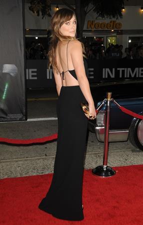 Olivia Wilde In Time premiere in Los Angeles October 20, 2011