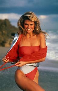 Christie Brinkley in a bikini - breasts
