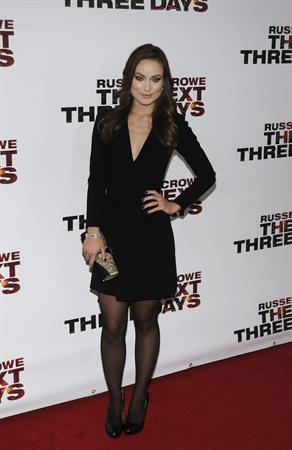 Olivia Wilde the Next Three Days screening 09/11/2010