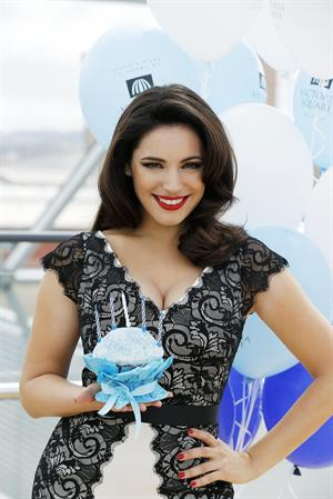 Kelly Brook Victoria Square's 5th Birthday Bash in Belfast 6/1/13