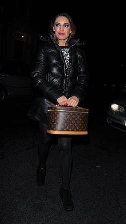 Kelly Brook At her home in London - November 2, 2012