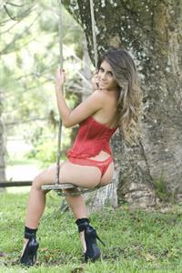 Paula Rebello in lingerie - ass