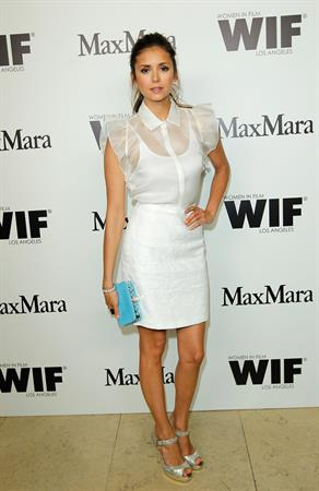 Nina Dobrev Max Mara Women in Film cocktail party in West Hollywood November 6, 2012