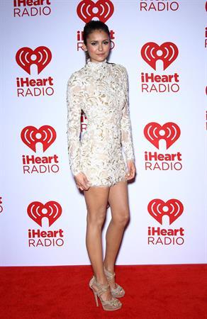 Nina Dobrev at IHeartRadio Music fest (day 2) in Las Vegas 9/22/12