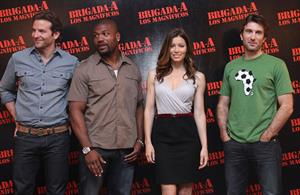 Jessica Biel at a press conference of the A-Team in Mexico City June 1, 2010