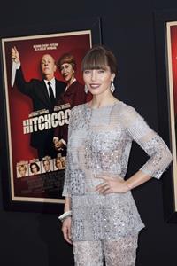 Jessica Biel  Hitchcock  NY Premiere 11/18/12