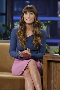 Jessica Biel - The Tonight Show With Jay Leno - July 25, 2012