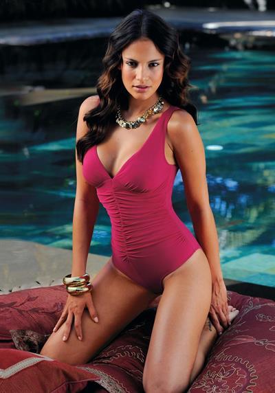 Shalana Santana in a bikini