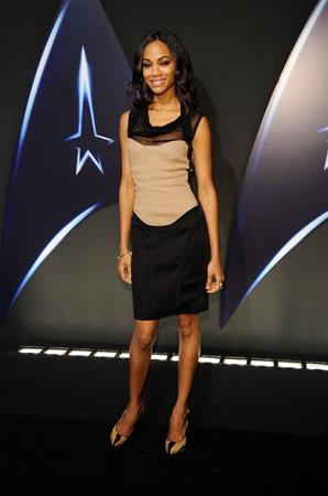 Zoe Saldana -  Star Trek  DVD release party - Los Angeles, Nov. 16, 2009