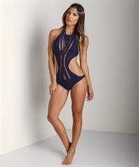 Rachel Barnes in a bikini