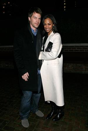 Zoe Saldana ''How To Make It In America'' Screening in NYC February 9, 2010