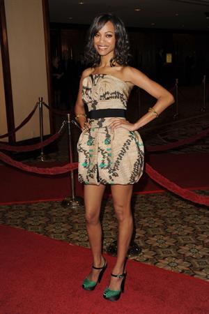 Zoe Saldana - Directors Guild of America Awards