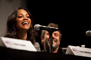 Zoe Saldana - Attends  The Losers  panel at 2010 WonderCon - San Francisco, Apr. 3, 2010