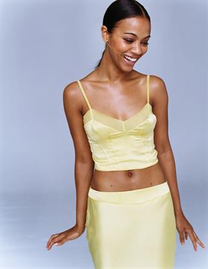 Zoe Saldana - Mike Hanson Photoshoot 2003