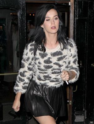 Katy Perry leaving her pre-album release party at NYC on August 12, 2013