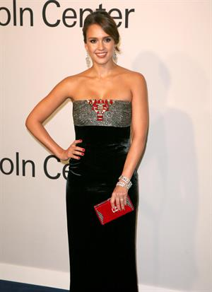 Jessica Alba at An Evening With Ralph Lauren hosted by Oprah Winfrey on October 24, 2011