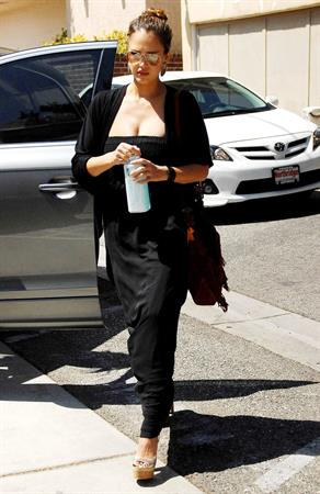 Jessica Alba going to business meeting in Westwood on September 9, 2011