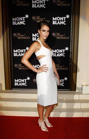 Jessica Alba opening of Mont Blancs concept store in Beijing 01-06-2012