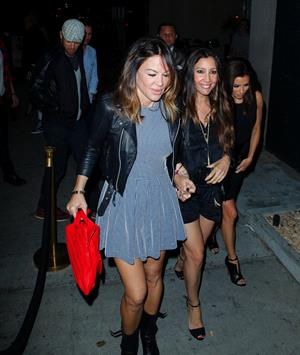 Eva Longoria at Club Bootsy Bellows 16.03.13