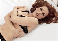 Gillian Anderson in lingerie