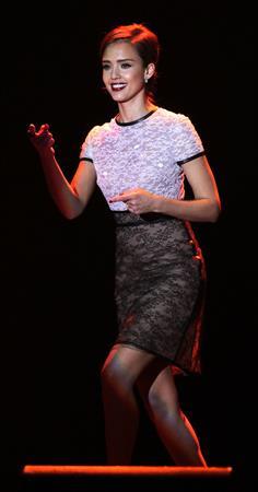 Jessica Alba Trevor live show at the Hollywood Palladium 05-12-2010