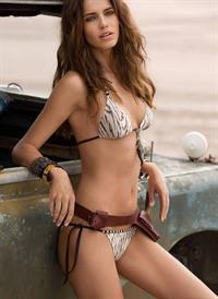 Amanda Brandao in a bikini