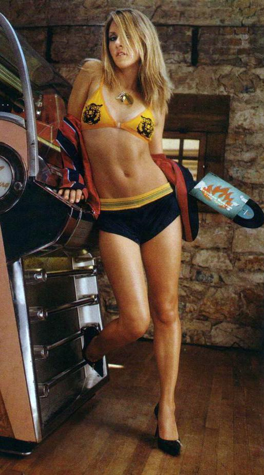 Liz Phair in a bikini