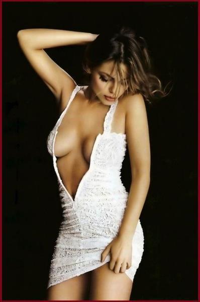 Marisa Jara in lingerie