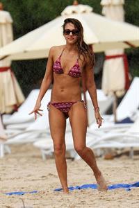 Jessica Alba bikini candids in St. Barts 4/5/13