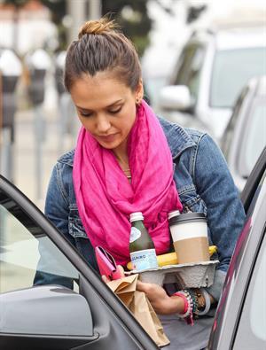 Jessica Alba Santa Monica Candids July 6th 2012