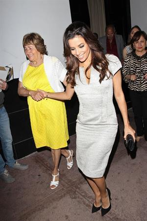 Eva Longoria Leaving Beso Restaurant after having dinner in Los Angeles (May 22, 2013)