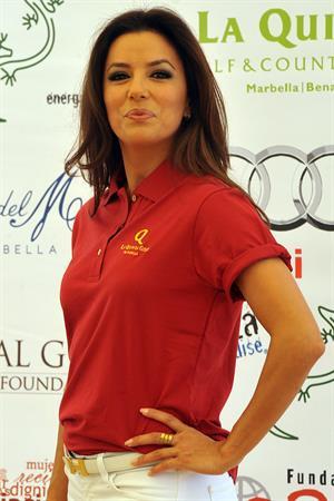 Eva Longoria Global Gift Celebrity Golf Tourment in Marbella 03.08.13
