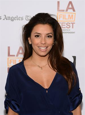 Eva Longoria In A World Premiere during Los Angeles Film Festival 16.06.13