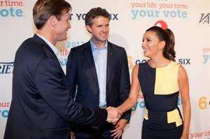 Eva Longoria - Speaks at the Your Life Your Time Your Vote Event hosted by Got Your 6 and Lifetime Television - September 5, 2012