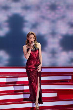 Kylie Minogue Ein Herz Fuer Kinder Gala 2012 - Show - Berlin,Germany - December 15 2012