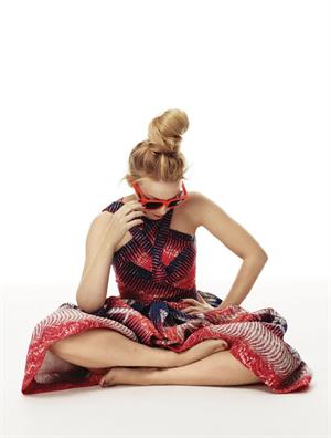 Kylie Minogue - By William Baker For Stylist Magazine February 2012