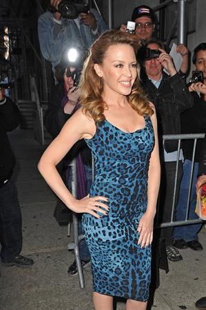 Kylie Minogue Leaving The Wendy Williams Show in NYC - October 11, 2012