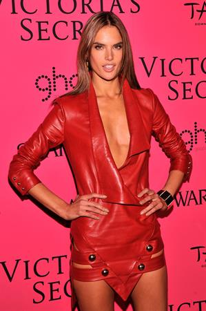 Alessandra Ambrosio Victoria's Secret Fashion after party at TAO Downtown New York City, November 13, 2013