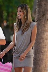 Alessandra Ambrosio outside a Victorias Secret store in Miami Beach
